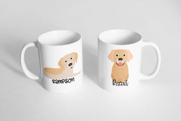 Golden Retriever Mug - The Dapper Paw