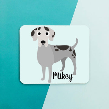 Great Dane Mouse Pad - The Dapper Paw