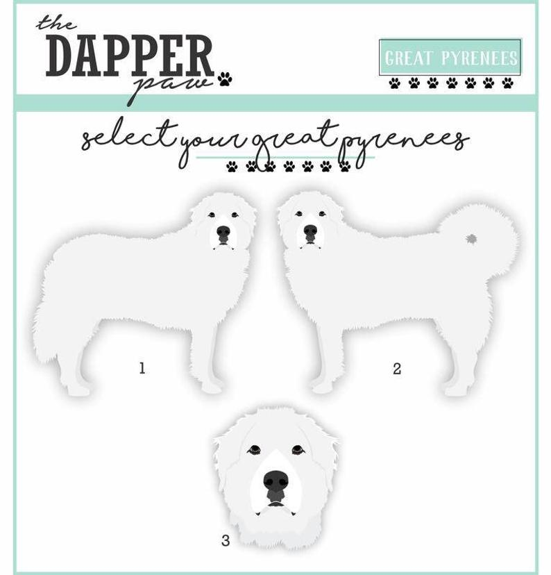 Great Pyrenees Mouse Pad - The Dapper Paw