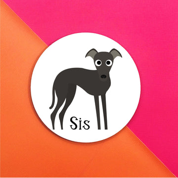 Italian Greyhound Mouse Pad - The Dapper Paw