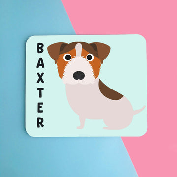 Jack Russell Mouse Pad - The Dapper Paw