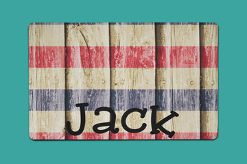 Jack Wooden Flag Placemat