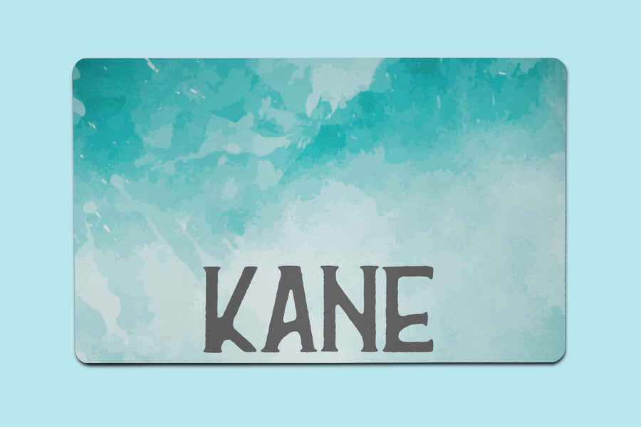 Kane Watercolor Placemat