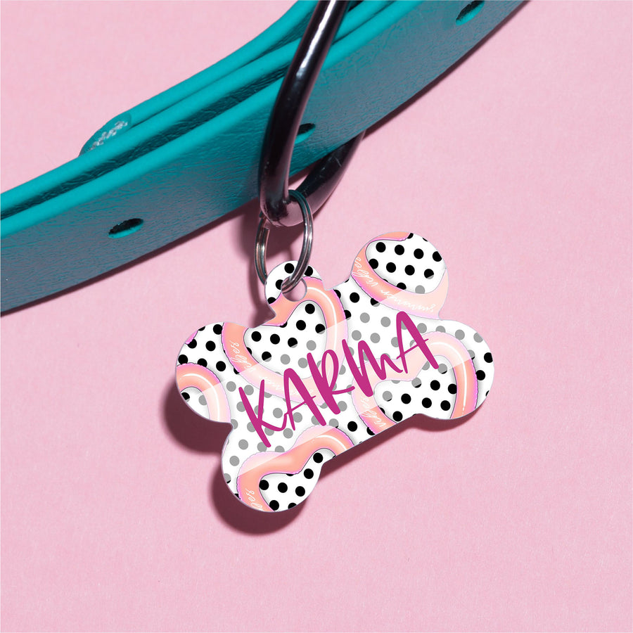 Karma Balloons Pet ID Tag - The Dapper Paw