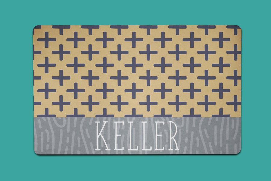 Keller Combo Placemat - The Dapper Paw