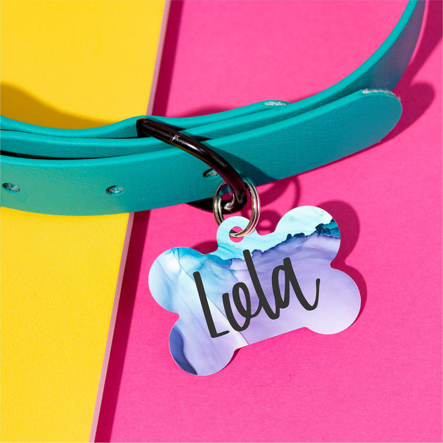 Lola Swirl Pet ID Tag - The Dapper Paw