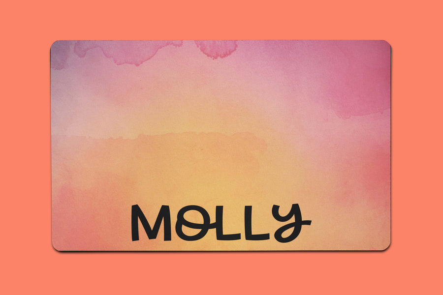 Molly Watercolor Placemat