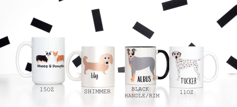 Less People, More Dogs Mug - The Dapper Paw