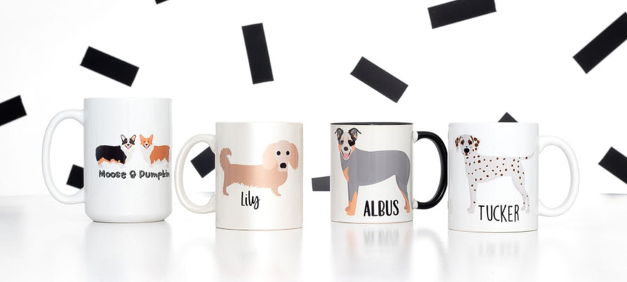 Dogs are a Girl's Best Friend Coffee Mug - The Dapper Paw