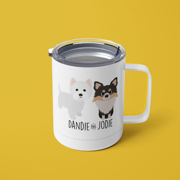 Multiple Dog Mug - The Dapper Paw