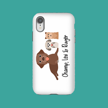 Multiple Dog Phone Case - The Dapper Paw