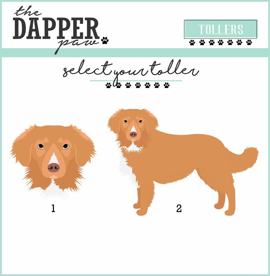 Nova Scotia Duck Tolling (Toller) Retriever Mouse Pad - The Dapper Paw