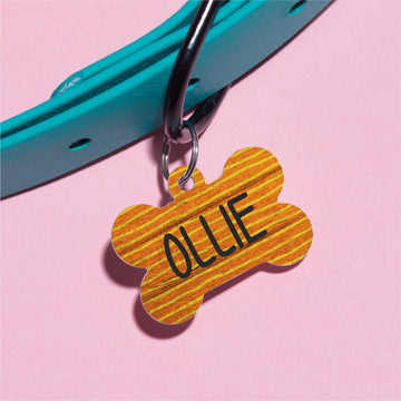 Ollie's Stripes Pet ID Tag