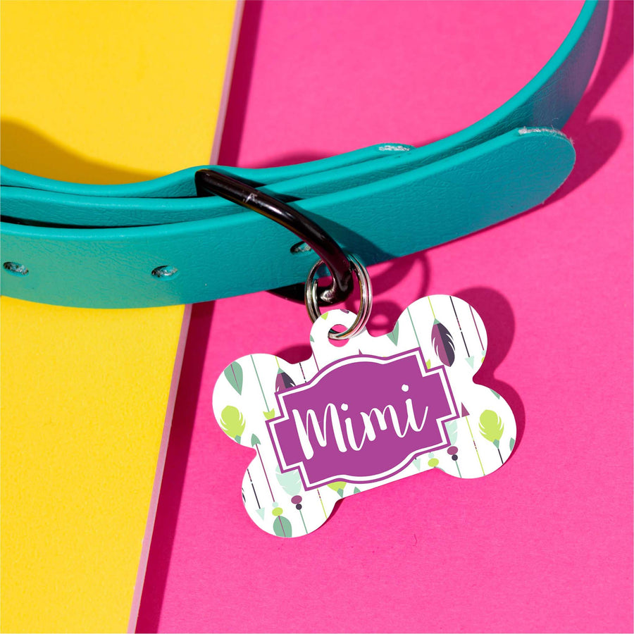 Aztec Arrows Pet ID Tag - The Dapper Paw