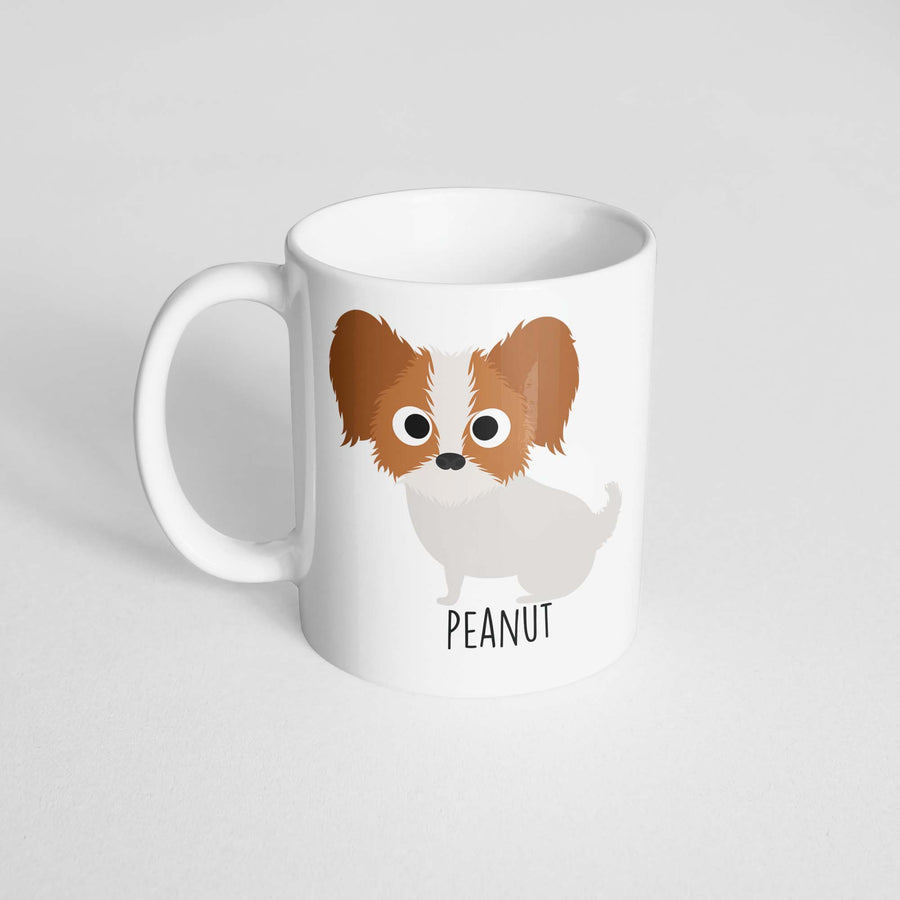 Papillon Mug - The Dapper Paw