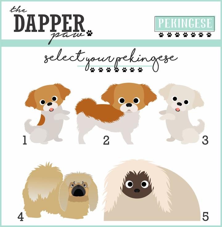 Pekingese Mouse Pad - The Dapper Paw