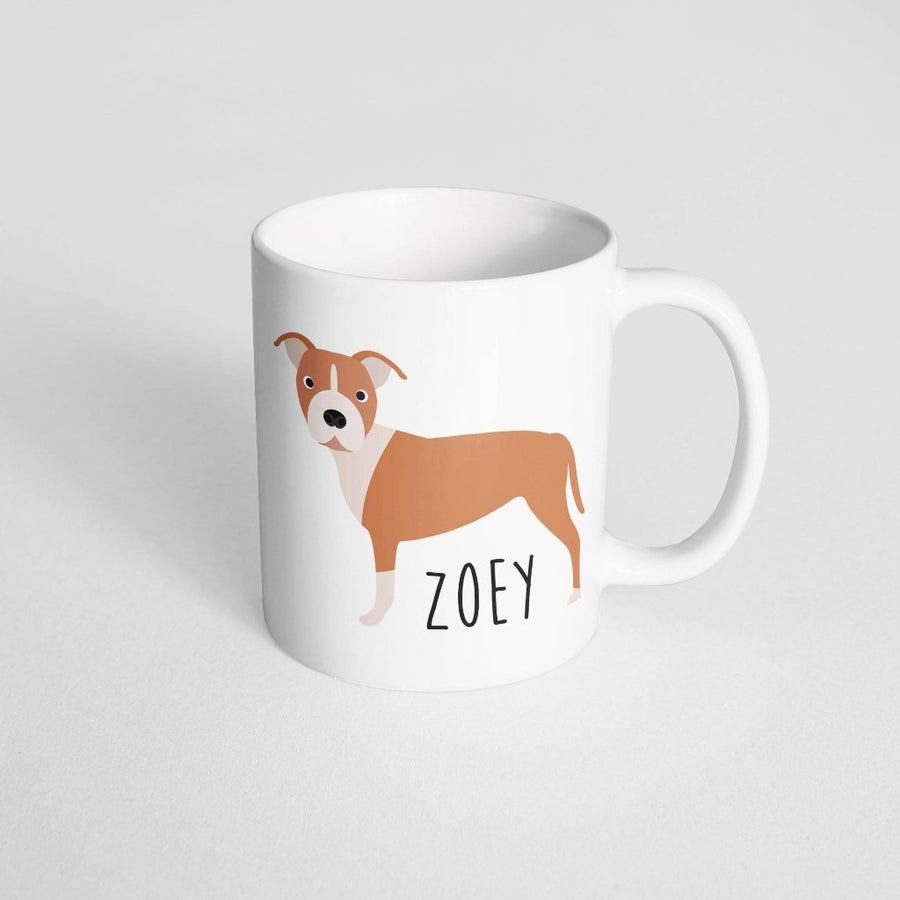 Pitbull Mug - The Dapper Paw