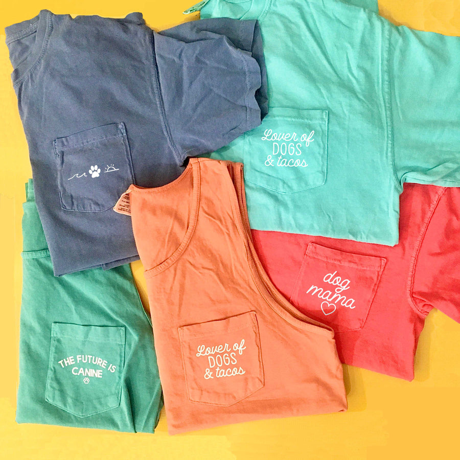 Summer Vibes / Comfort Colors Top - The Dapper Paw