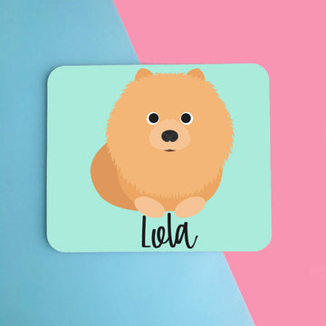 Pomeranian Mouse Pad - The Dapper Paw