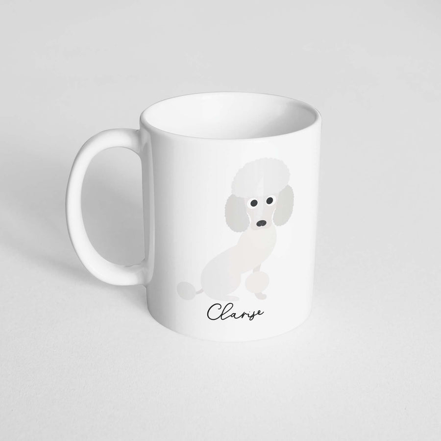 Miniature Poodle Mug - The Dapper Paw