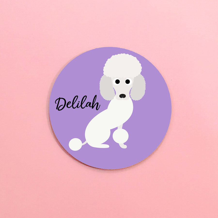 Poodle Mouse Pad - The Dapper Paw