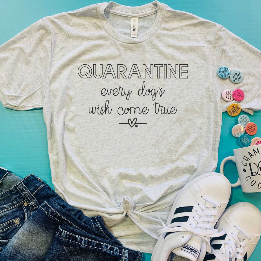 Quarantine Tee - The Dapper Paw