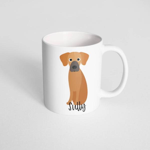 Rhodesian Ridgeback Mug - The Dapper Paw
