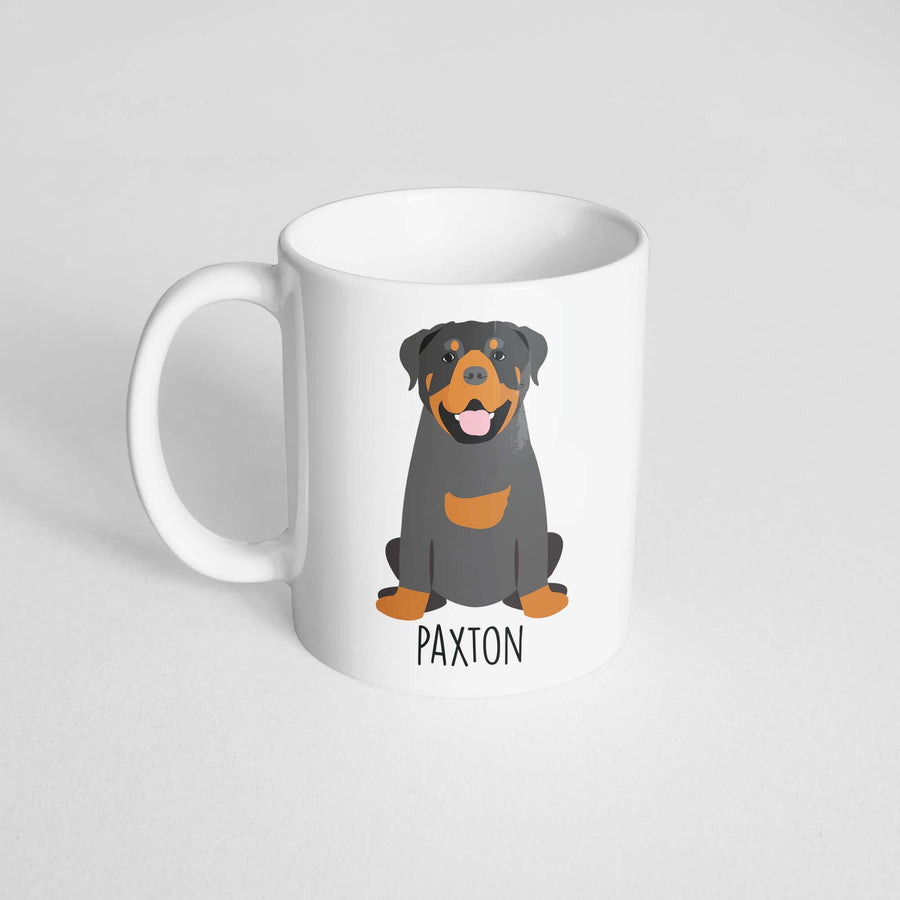 Rottweiler Mug - The Dapper Paw