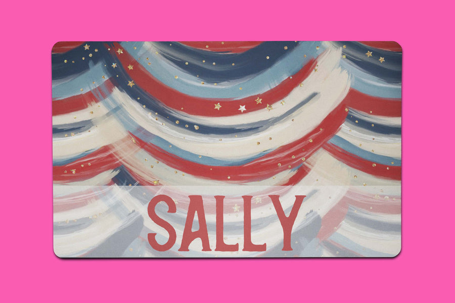 Sally Flag Placemat