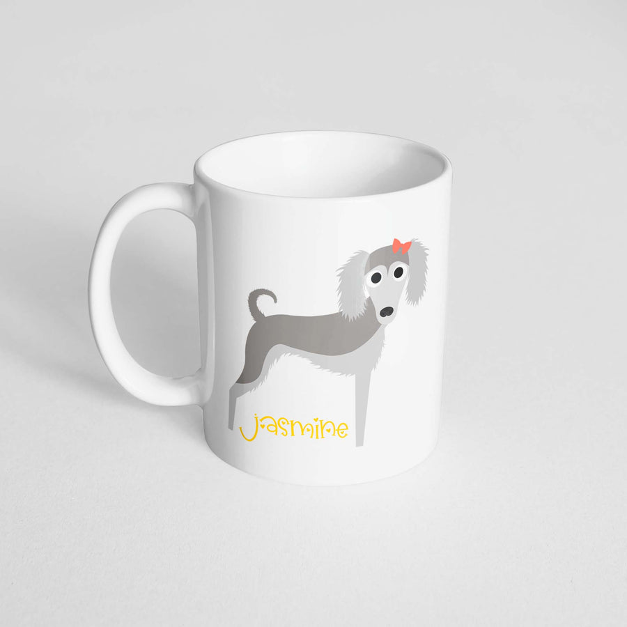 Saluki Mug - The Dapper Paw