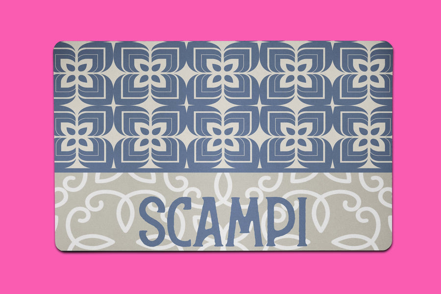 Scampi Tile Placemat - The Dapper Paw
