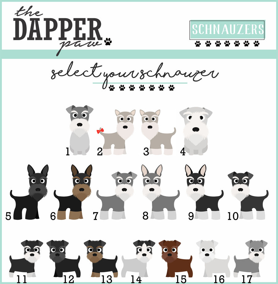 Schnauzer Mug - The Dapper Paw
