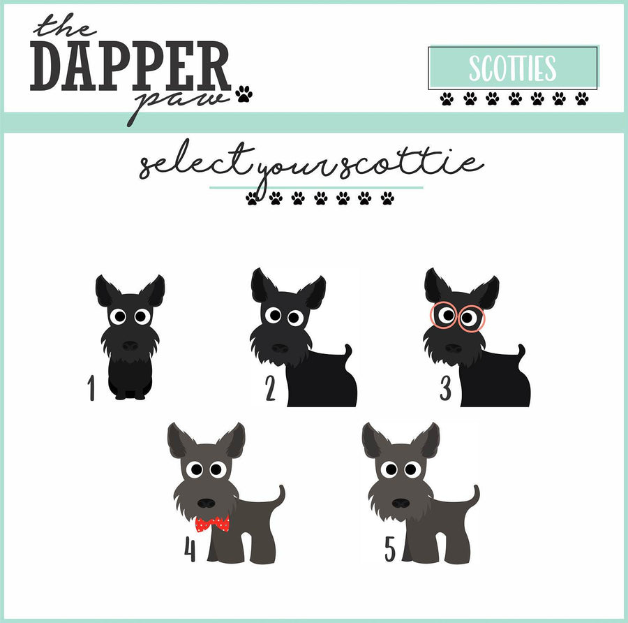 Pup and Me Cartoon Ornament - The Dapper Paw