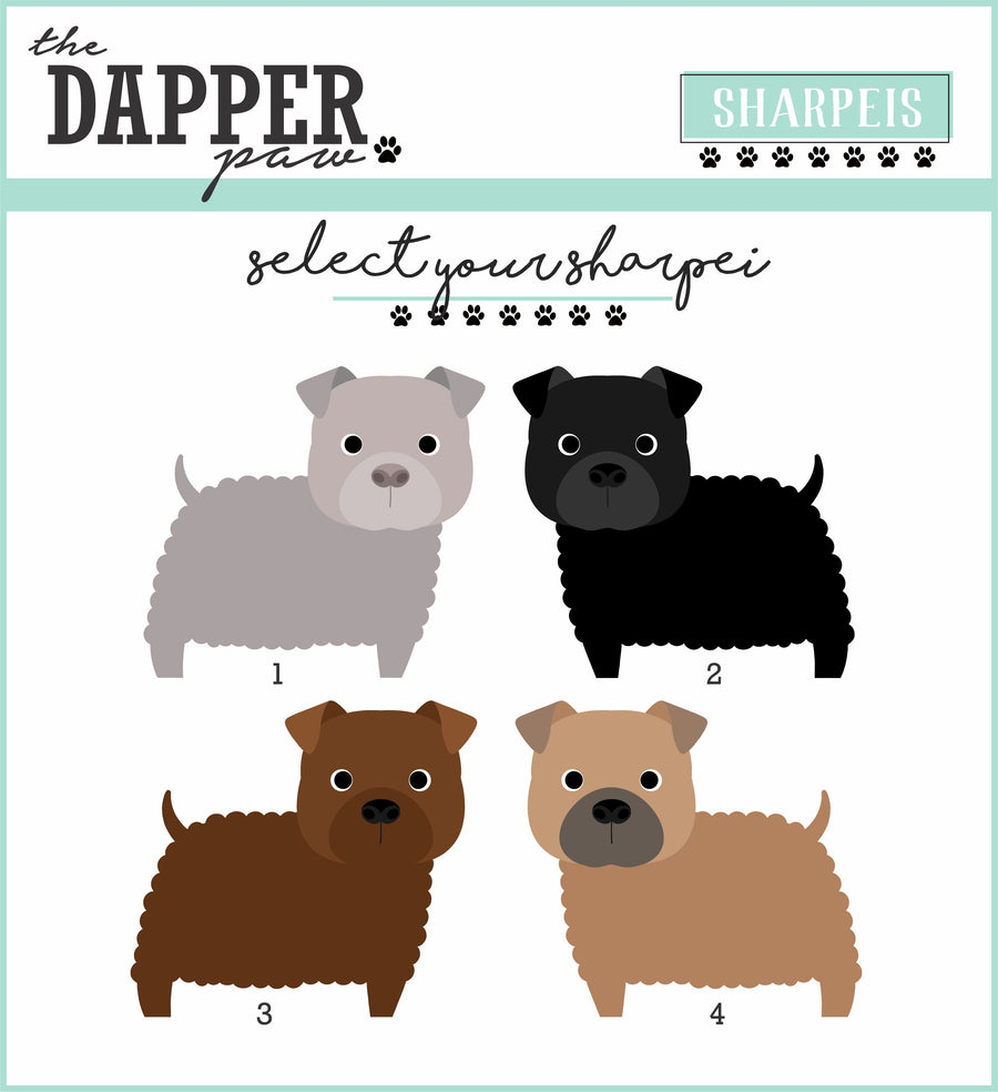 Shar Pei Mug - The Dapper Paw