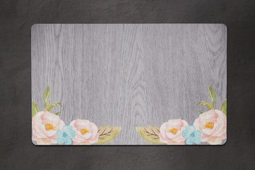 Soft Floral Placemat - The Dapper Paw