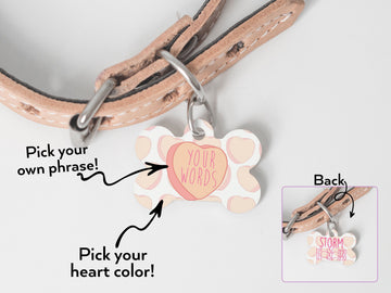 Create Your Own Heart Pet ID Tag - The Dapper Paw