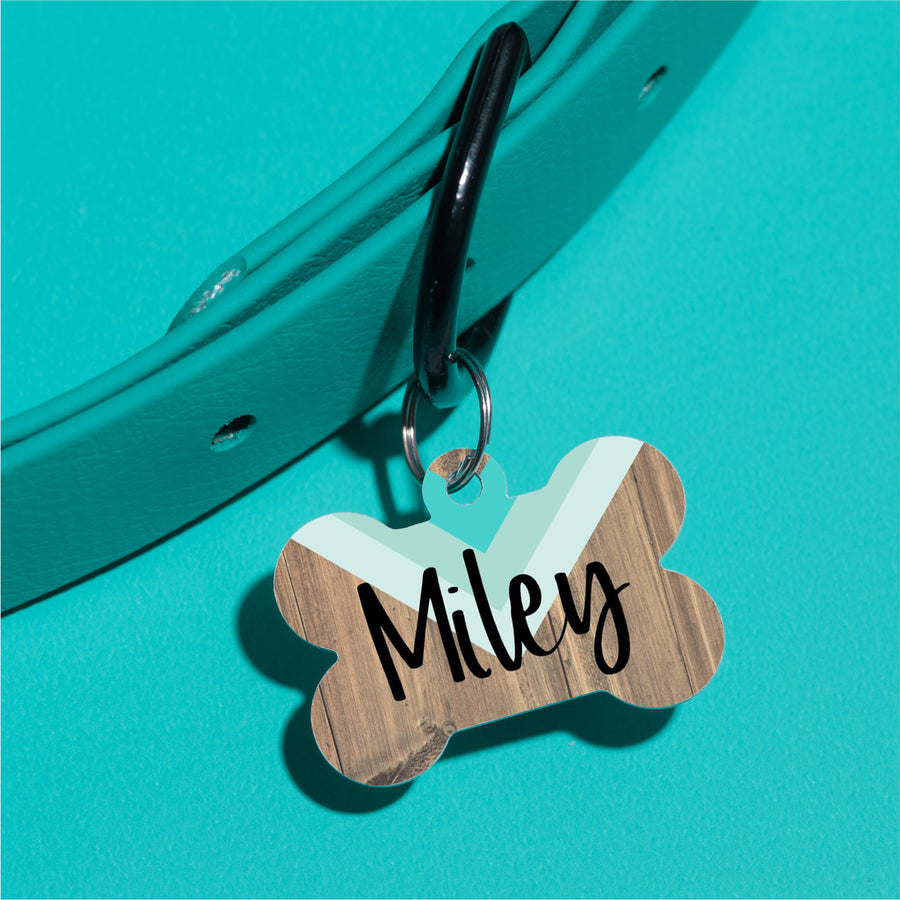 Mod Arrow Pet ID Tag - The Dapper Paw