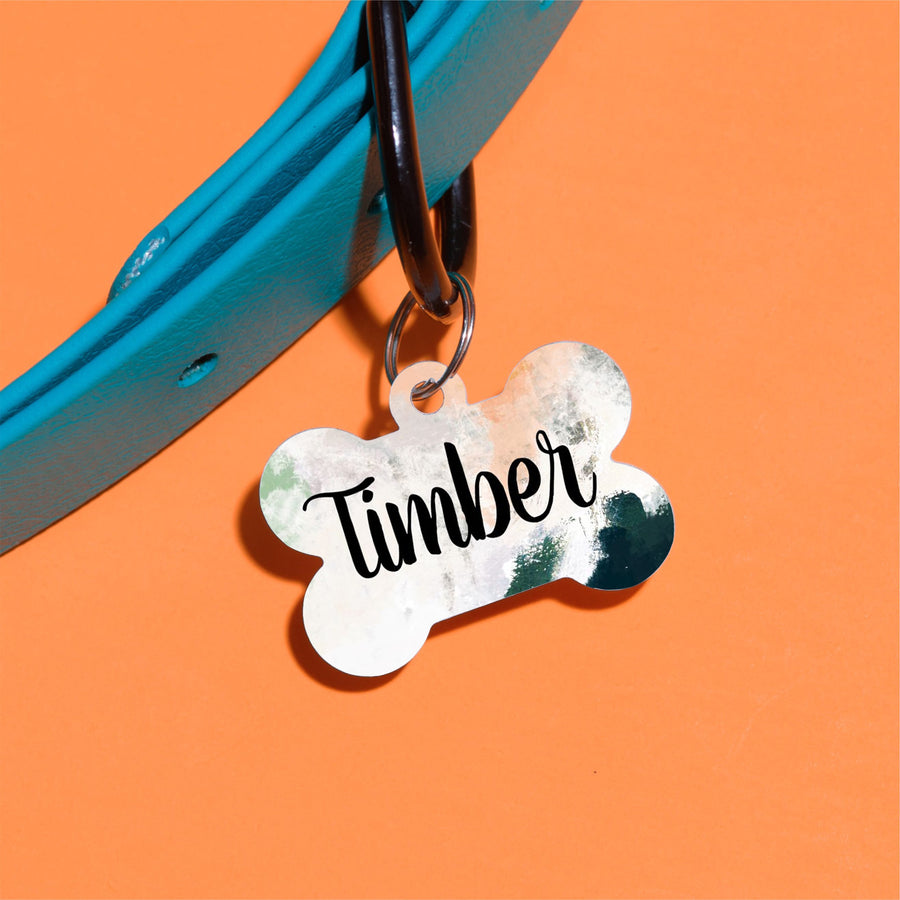 Beautiful Moss Pet ID Tag - The Dapper Paw