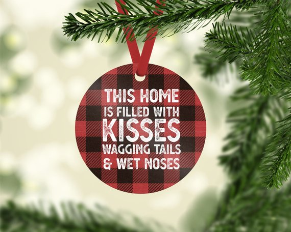 This Home is Filled Photo Ornament