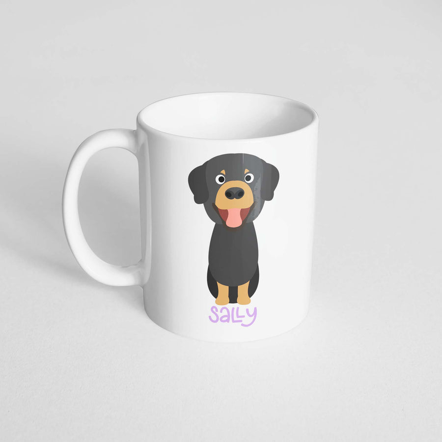 Tibetan Mastiff Mug - The Dapper Paw