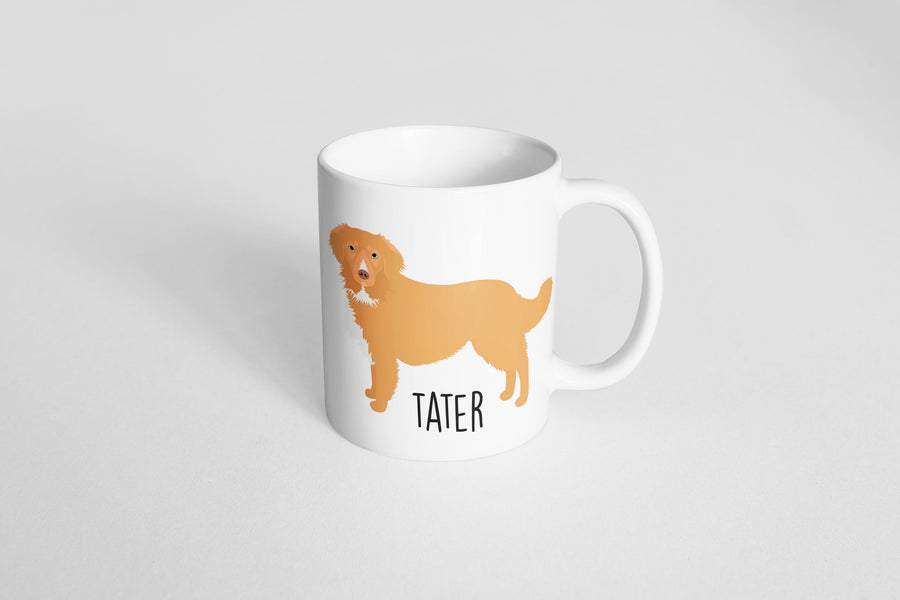 Nova Scotia Duck Tolling Retriever (Toller) Mug - The Dapper Paw