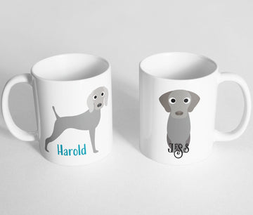 Weimaraner Mug - The Dapper Paw