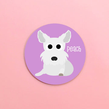 West Highland Terrier (Westie) Mouse Pad - The Dapper Paw