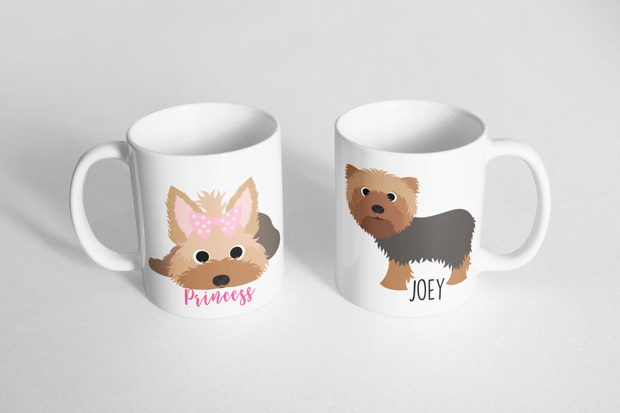 Yorkshire Terrier (Yorkie) Mug - The Dapper Paw