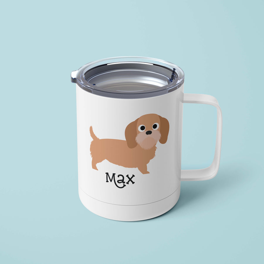Basset Fauve Tumbler - The Dapper Paw