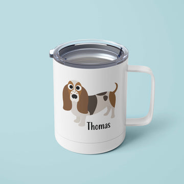Basset Hound Tumbler - The Dapper Paw