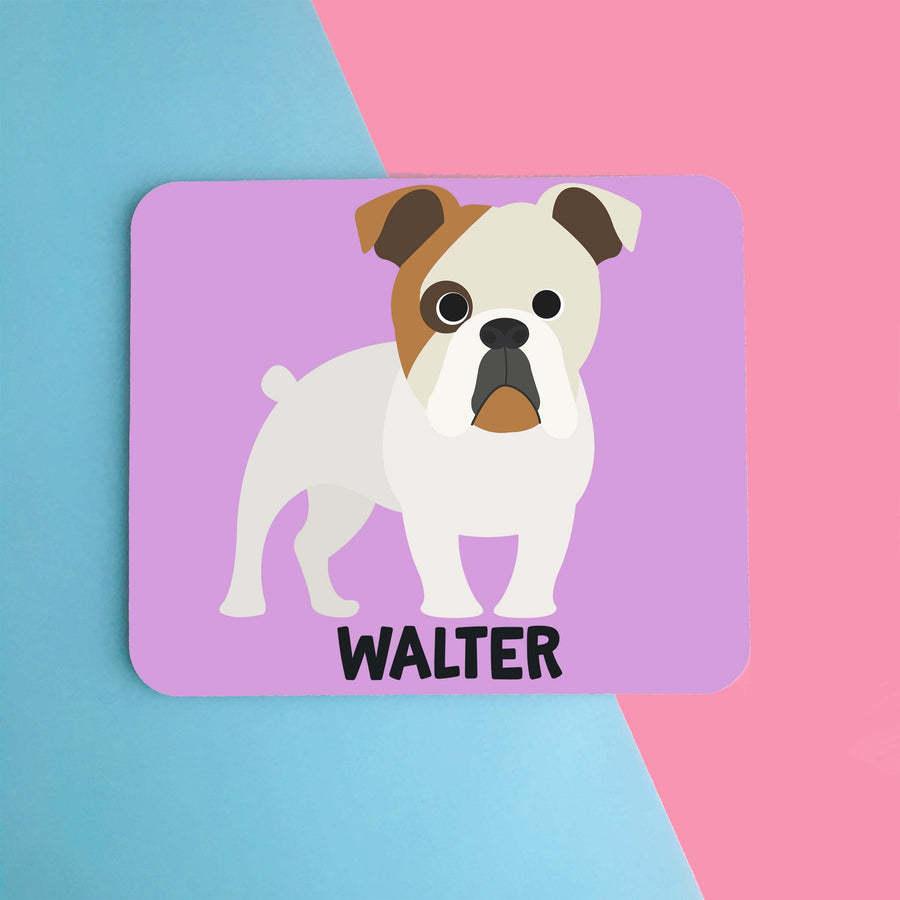 English Bulldog Mouse Pad - The Dapper Paw