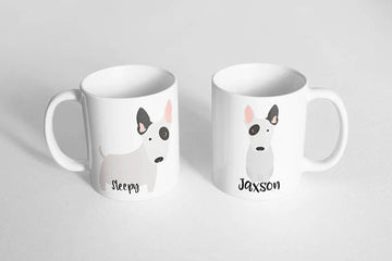 Bull Terrier Mug - The Dapper Paw