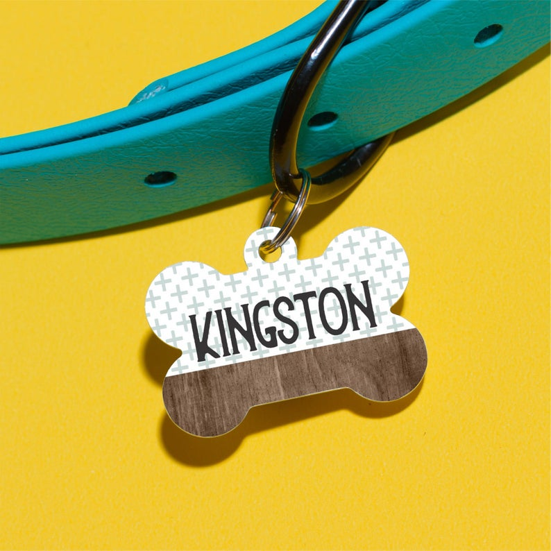 Kingston's Combo Pet ID Tag - The Dapper Paw