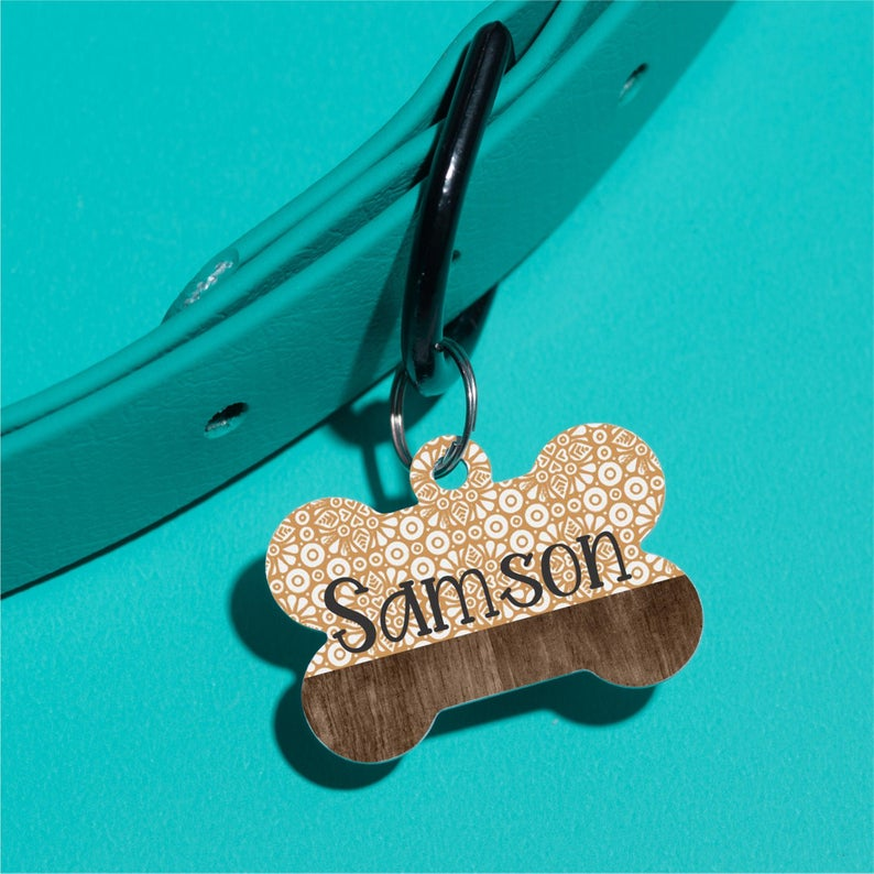 Tile by Samson Pet ID Tag - The Dapper Paw